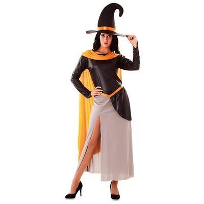 Heksen jurk - oranje
