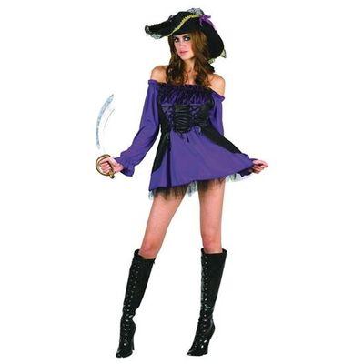 Piraten jurkje - paars