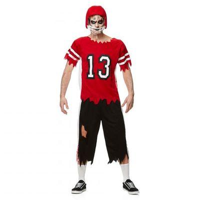 Foto van Zombie rugby kostuum