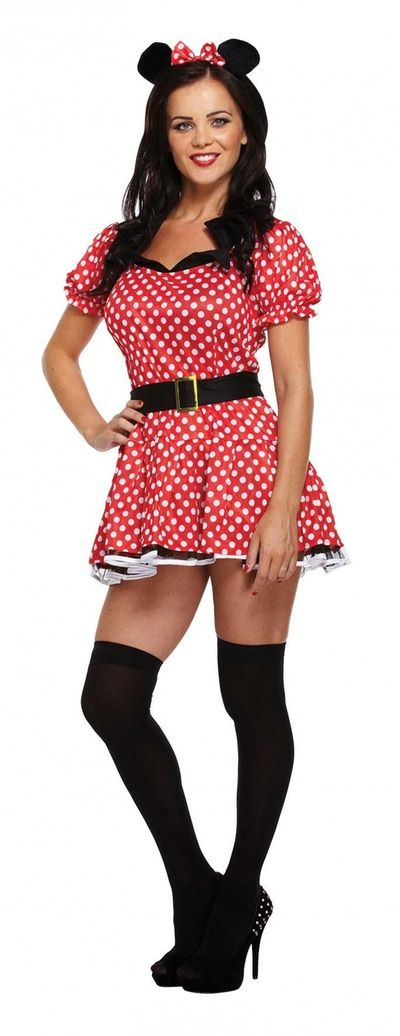 Minnie mouse jurkje