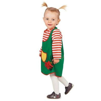 Pippi Langkous kostuum baby