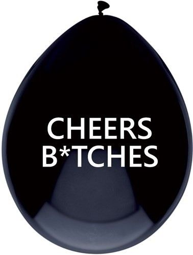 Ballonnen Cheers Bitches