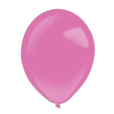 Ballonnen hot pink (13cm) 100st
