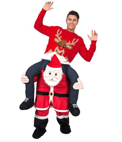 Carry me kerstman