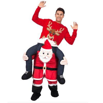 Foto van Carry me kerstman