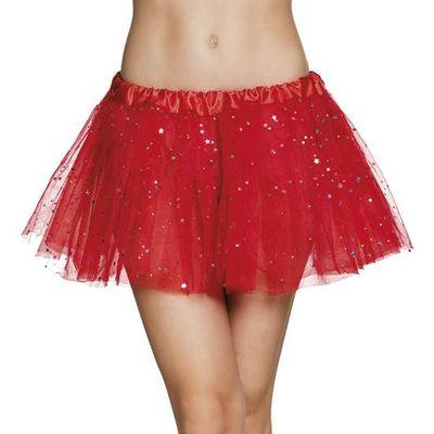 Foto van Tutu rood met glitters