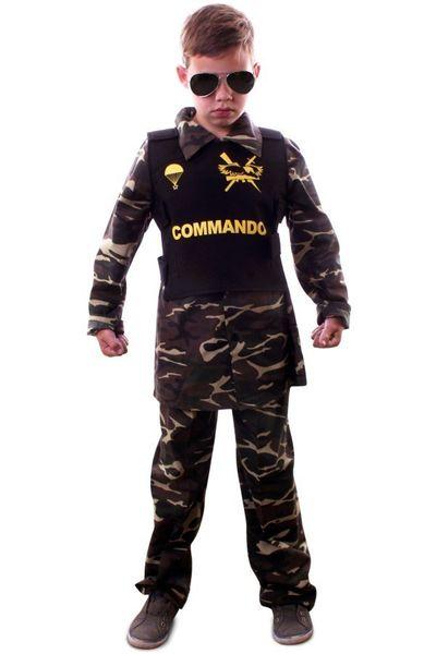 Commando kostuum jongens