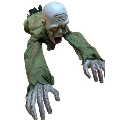 Halloween decoratie kruipende zombie