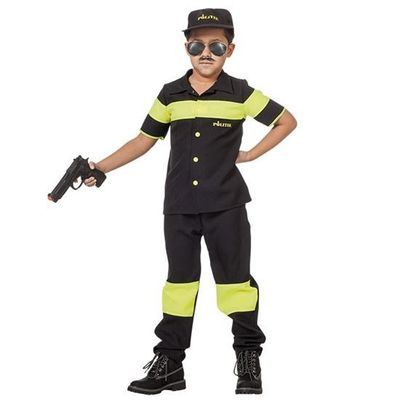 Foto van Politie kostuum kind