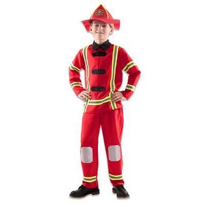 Foto van Brandweer kostuum kind