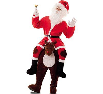 Carry me kostuum kerstman & rendier