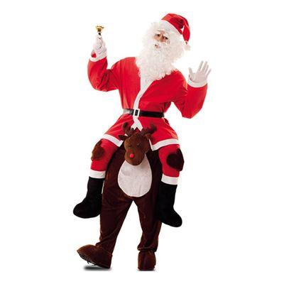 Foto van Carry me kostuum kerstman & rendier