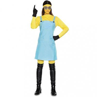 Foto van Minion kostuum dames