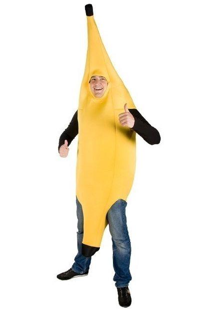 Bananen kostuum