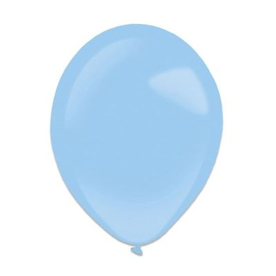 Ballonnen pastel blue (13cm) 100st