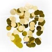 Foto van Confetti groot rond goud