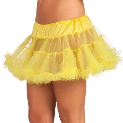 Petticoat geel kort