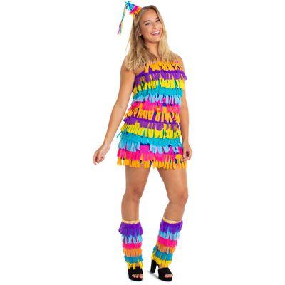 Pinata kostuum - dames