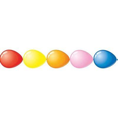 Doorknoopballonnen assorti 100st