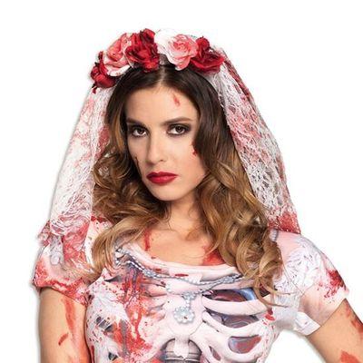 Foto van Diadeem horror bruid