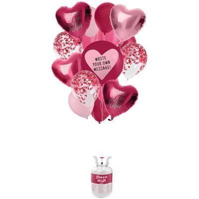 Helium tank valentijnsdag