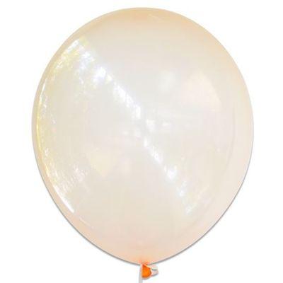 Ballonnen bubbel oranje (61cm)