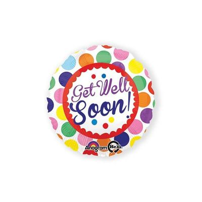 Foto van Folieballon get well soon