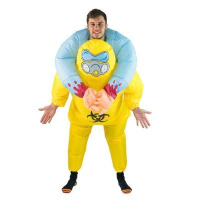Foto van Biohazard carry me kostuum