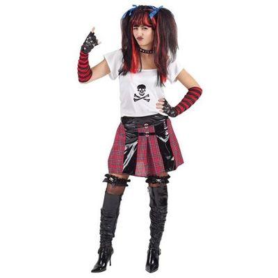 Foto van Jaren 80 kostuum - Punker dames