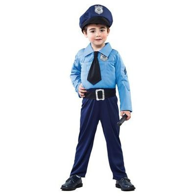 Politie pak kind gespierd