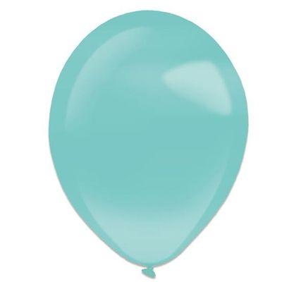 Ballonnen robin egg blue pearl (13cm) 100st