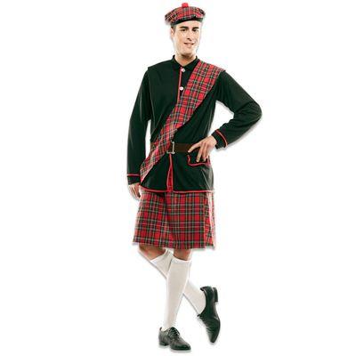 Foto van Schotse kilt kostuum