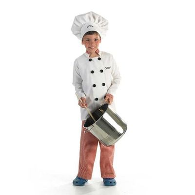 Foto van Chef kok kostuum kind
