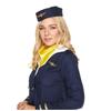 Afbeelding van Stewardess kostuum - Donkerblauw