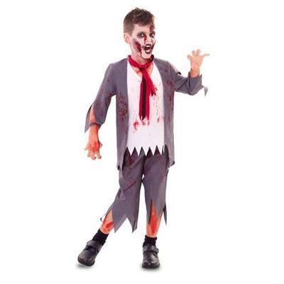 Zombie schooljongen - kind