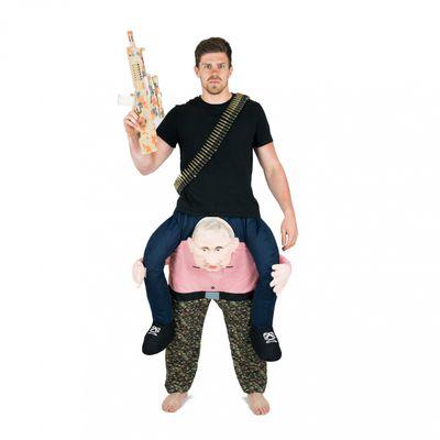 Foto van Carry me Putin kostuum