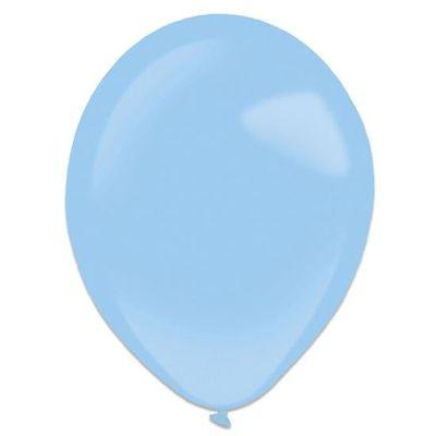 Ballonnen pastel blue (35cm) 50st
