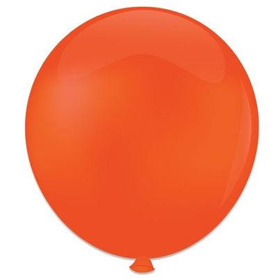 Topballon oranje (91cm) 6st