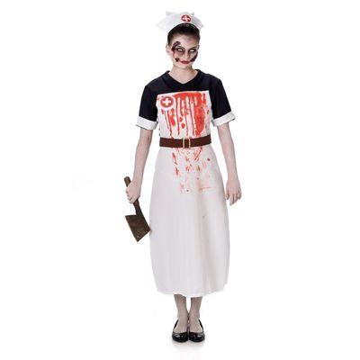 Foto van Zombie verpleegster kostuum