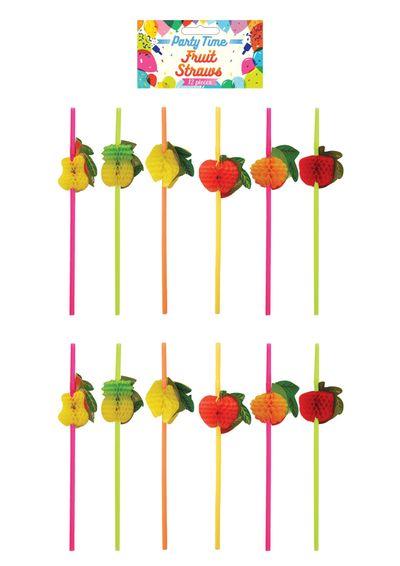 Fruit rietjes 12 stuks