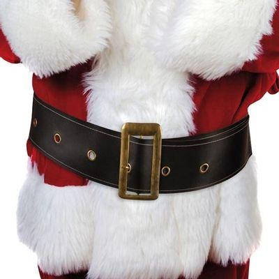 Kerstman riem luxe
