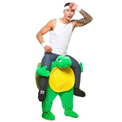 Foto van Carry me kostuum schildpad