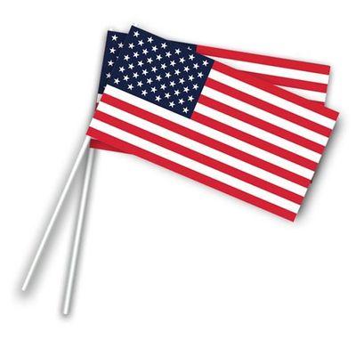 Foto van Zwaaivlaggetjes U.S.A