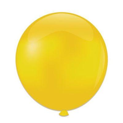 Ballonnen kristal geel (61cm)