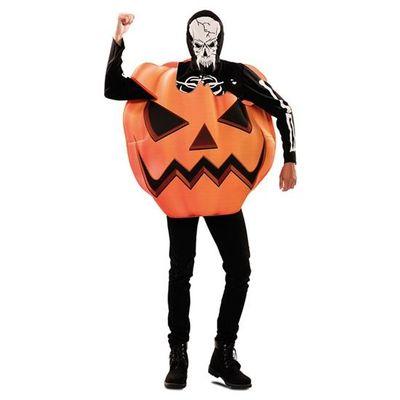 Pompoen skelet kostuum