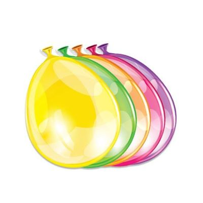 Ballonnen neon assorti (25cm) 50st