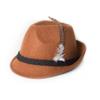 Afbeelding van Tiroler hoed bruin