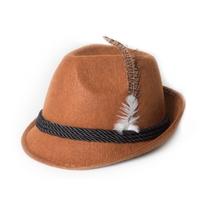 Tiroler hoed bruin