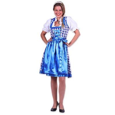 Dirndl jurk Amelie - Blauw