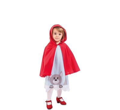 Roodkapje kostuum peuter